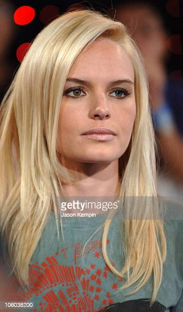 Kate Bosworth during Kate Bosworth Brandon Routh and Rosario Dawson Visit MTV's TRL June 28 2006 at MTV Studios in New York City New York United...