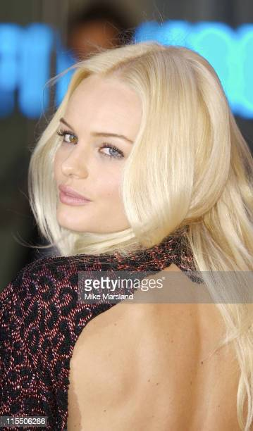 Kate Bosworth during Superman Returns London Premiere Outside Arrivals at Odeon Leicester Square in London Great Britain