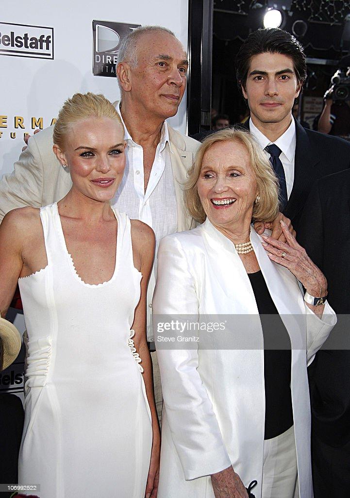 Kate Bosworth, Frank Langella, Eva Marie Saint and Brandon Routh