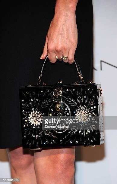 Kate Bosworth, handbag detail, attends House of Gant Presentation Spring 2016 New York Fashion Week on September 10, 2015 in New York City.