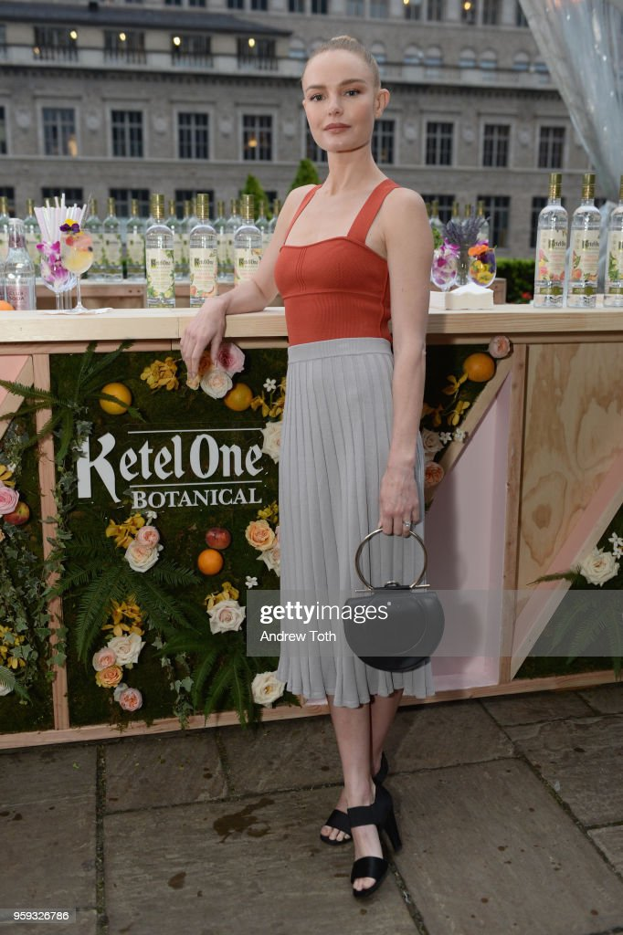 Launch of Ketel One Botanical, A New First-of-Its-Kind Spirit in New York City, on May 16, 2018. : News Photo