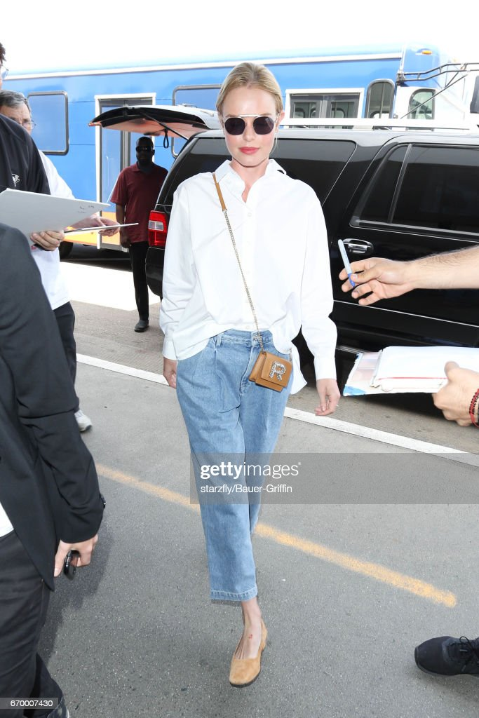 Celebrity Sightings In Los Angeles - April 18, 2017 : News Photo