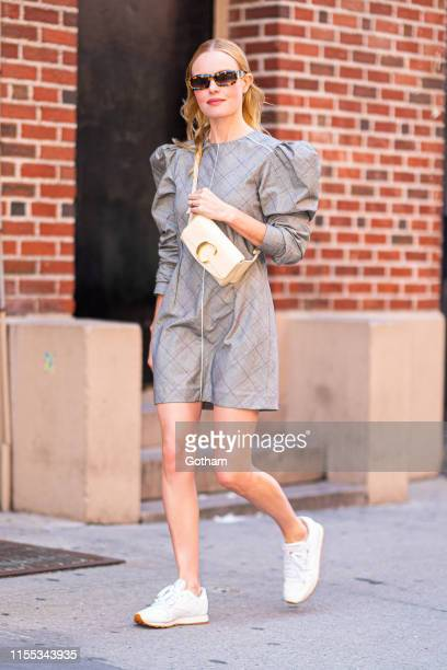 Kate Bosworth is seen in Tribeca on June 11 2019 in New York City