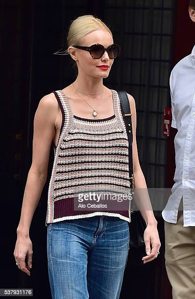 Kate Bosworth is seen in Tribeca on June 3 2016 in New York City