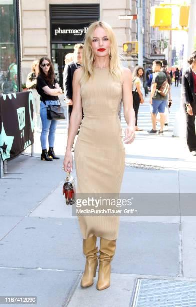 Kate Bosworth is seen outside the Build Studio on September 11, 2019 in New York City.