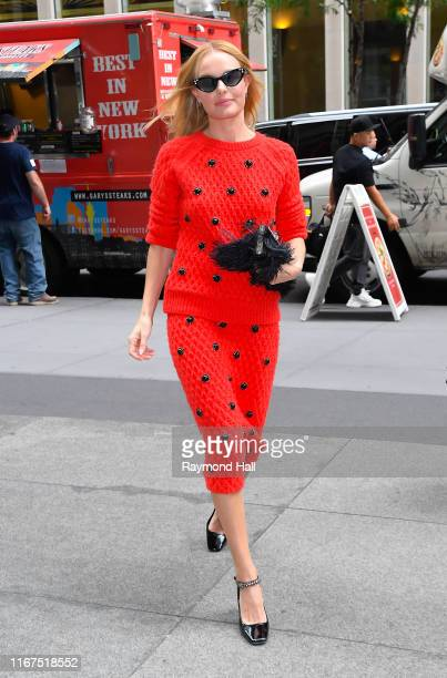 Kate Bosworth is seen walking in Midtown on September 12, 2019 in New York City.