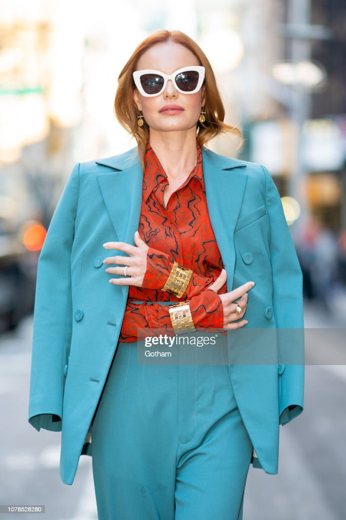 Celebrity Sightings in New York City - December 7, 2018 : News Photo