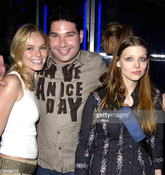 Kate Bosworth Joel Michaely and Amber Benson during Nylon Magazine Party to Celebrate the October Issue with Brittany Murphy at The Ivar at Ivar in...
