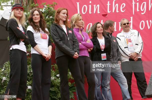 Kate Bosworth Julianne Moore Marcia Cross Felicity Huffman Lilly Tartikoff CoFounder of The Revlon Run/Walk and the Revlon/UCLA Women's Cancer...