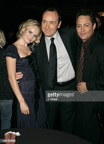 Kate Bosworth Kevin Spacey and Dodd Darin during 2004 AFI Film Festival Beyond the Sea Premiere Opening Night Gala After Party at Wilcox Theater in...
