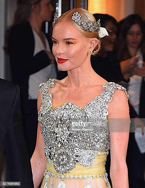 dca29773d5f2 Kate Bosworth leaves the Mark Hotel to attend the MET Gala on May 2 2016 in