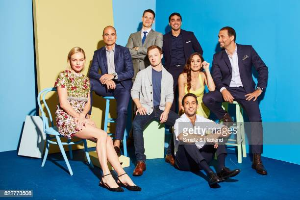 Kate Bosworth Michael Kelly Noel Fisher Jon Beavers EJ Bonilla Sarah Wayne Callies Darius Homayoun and Jeremy Sisto of National Geographic Channels...