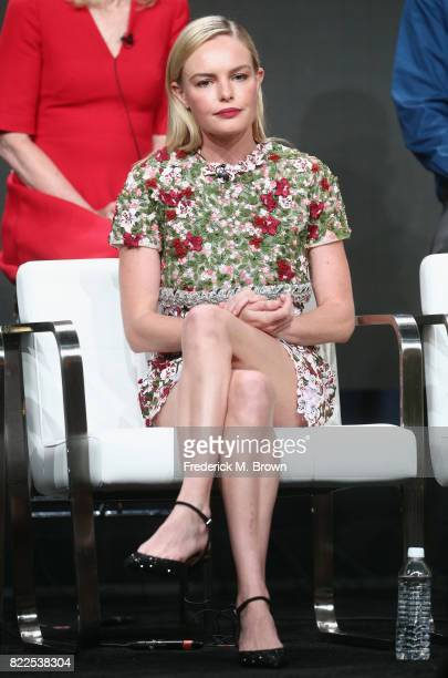 Kate Bosworth of 'The Long Road Home' speaks onstage during the National Geographic Channels portion of the 2017 Summer Television Critics...