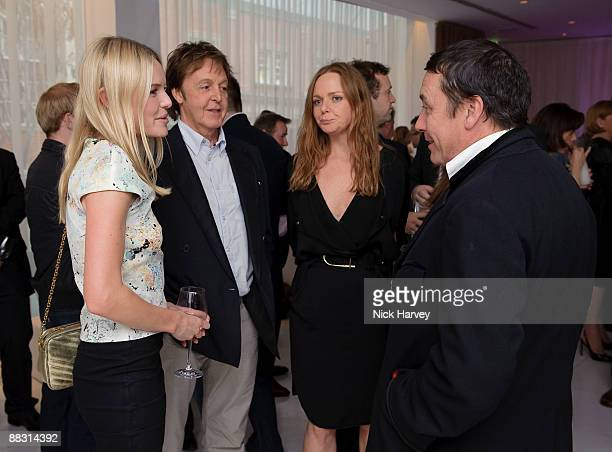 Kate Bosworth Paul McCartney Stella McCartney and Jules Holland attend the launch party of publication 'Told The Art Of Story' at St Martins Lane...