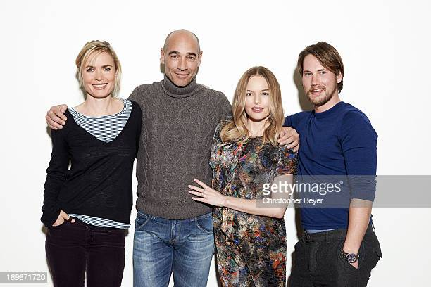 Kate Bosworth Radha Mitchell Jean Marc Barr and John Robinson are photographed for Entertainment Weekly Magazine on January 22 2013 in Park City Utah