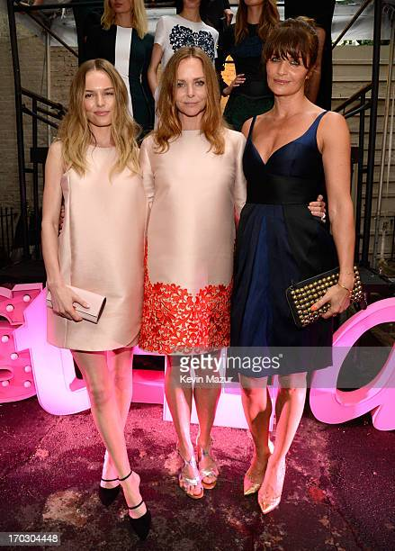 Kate Bosworth Stella McCartney and Helena Christensen attend the Stella McCartney Spring 2014 Collection Presentation at West 10th Street on June 10...