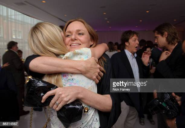 Kate Bosworth Stella McCartney Paul McCartney and James Russo attend the launch party of publication 'Told The Art Of Story' at St Martins Lane Hotel...