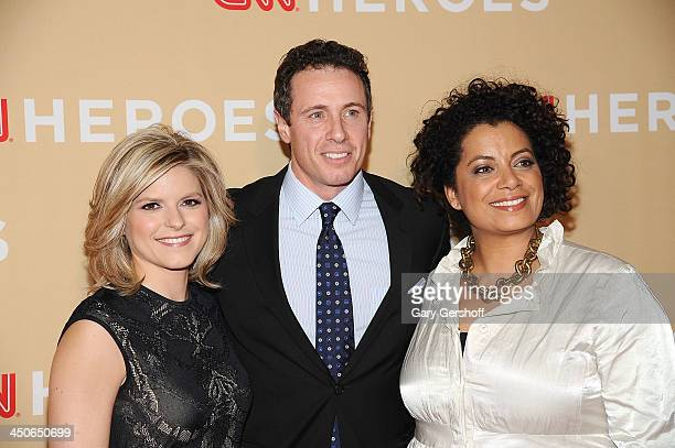 Kate Boulduan Chris Cuomo and Michaela Pereira attend the 2013 CNN Heroes An All Star Tribute at The American Museum of Natural History on November...