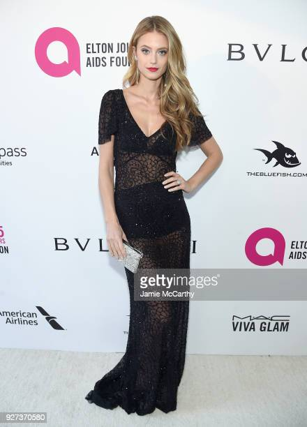 Kate Buck attends the 26th annual Elton John AIDS Foundation Academy Awards Viewing Party sponsored by Bulgari celebrating EJAF and the 90th Academy...