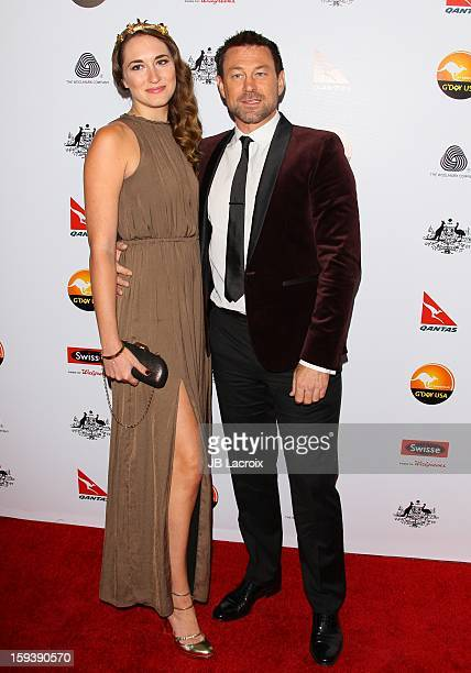 Kate Buckwald and Grant Bowler attend the 2013 G'Day USA Black Tie Gala at JW Marriott Los Angeles at L.A. LIVE on January 12, 2013 in Los Angeles,...