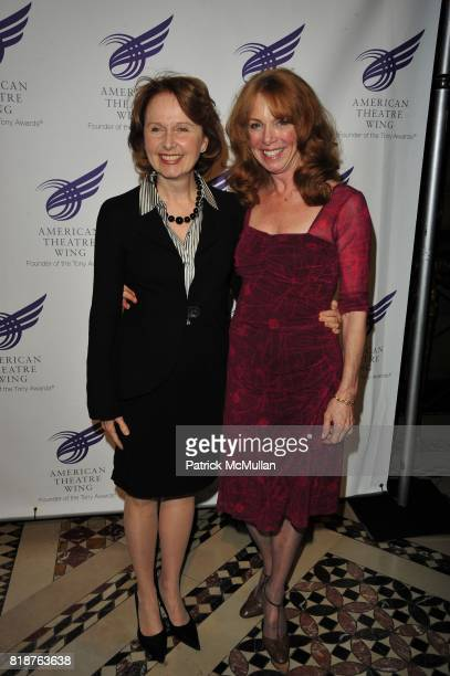 Kate Burton and Amy Van Nostrand attend 2010 American Theater Wing Gala at Cipriani 42nd NYC on June 7 2010