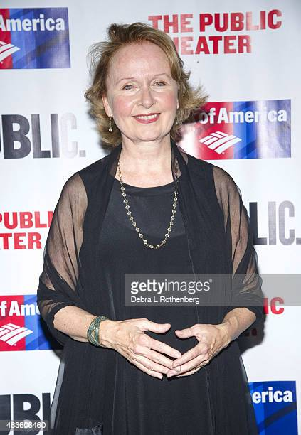 Kate Burton at the opeing night of Cymbeline at the Delacorte Theater on August 10 2015 in New York City