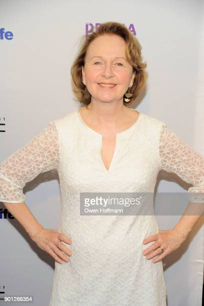 Kate Burton attends 83rd Annual Drama League Awards at Marriott Marquis on May 19 2017 in New York City