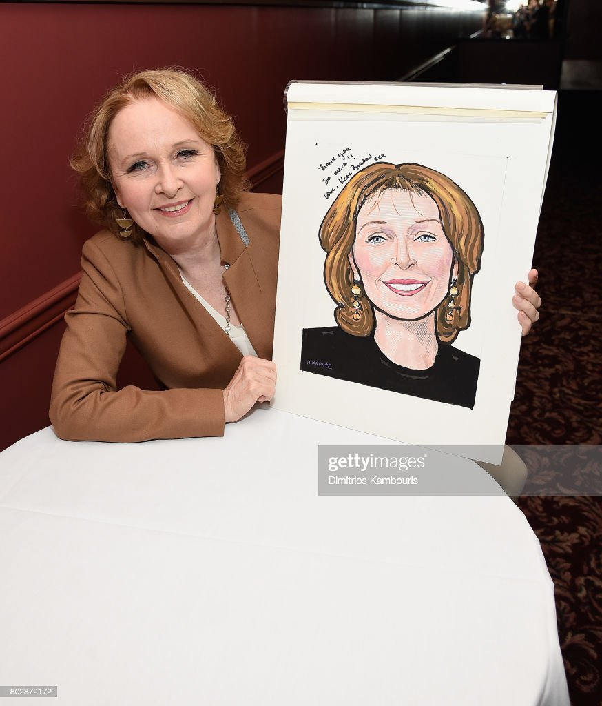 Kate Burton's Sardi's Caricature Unveiling