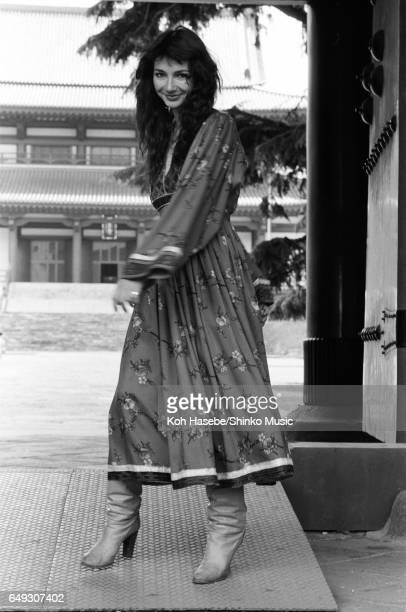 Kate Bush at Zojoji Temple June 1978