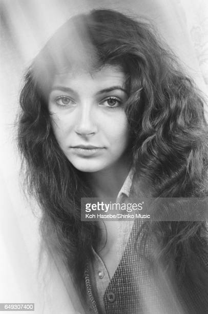 Kate Bush in a hotel room June 1978