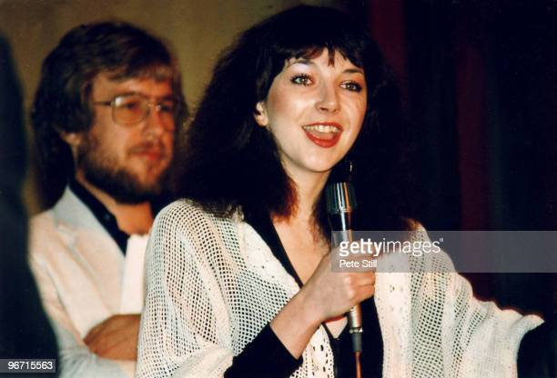 Kate Bush makes a surprise appearance to meet her fans at The Kate Bush Convention in Leicester Square on May 10th 1980 in London United Kingdom
