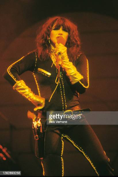 Kate Bush performs on stage on 'The Tour of Life', Carre, Amsterdam, Netherlands, 29th April 1979.