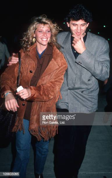 Kate Capshaw and Army Bernstein during Kate Capshaw at Academy Theater in Los Angeles December 10 1986 at Academy Theater in Los Angeles California...