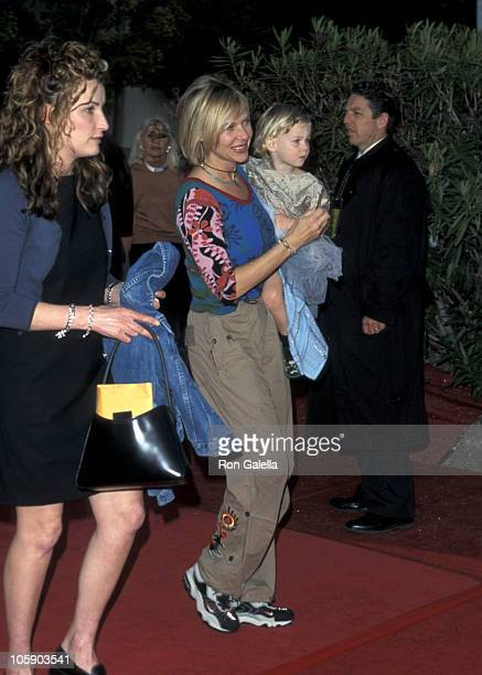 Kate Capshaw and daughter during World Premiere Opening Barnum's Kaleidoscape Benefit at Century Park West in Century City, California, United States.
