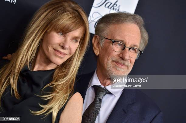 Kate Capshaw and director Steven Spielberg attend Women's Cancer Research Fund's An Unforgettable Evening Benefit Gala at the Beverly Wilshire Four...