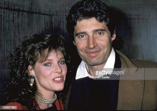 Kate Capshaw and Michael Nouri during Kate Capshaw and Michael Nouri Sighting at the Palladium February 28 1986 at The Palladium in New York City New...