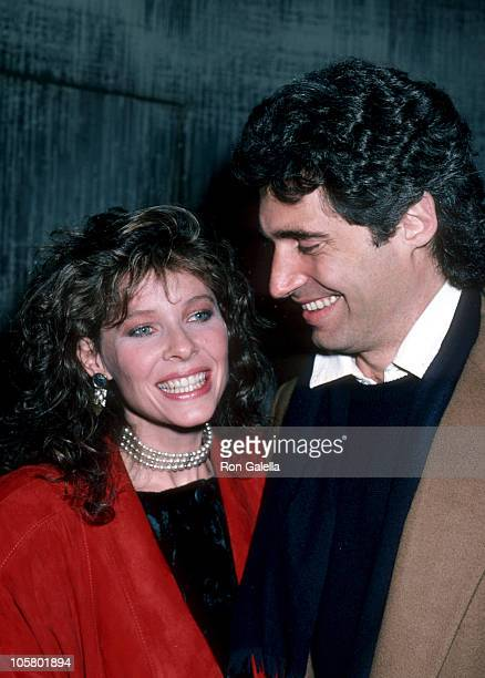 Kate Capshaw and Michael Nouri during Power Premiere Party January 28 1986 at The Palladium in New York City New York United States
