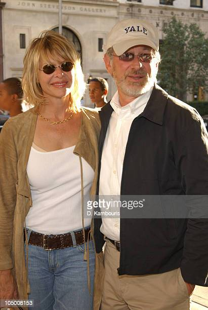 Kate Capshaw and Steven Spielberg during IFC Films Premiere of The Chateau at Chelsea West Cinemas in New York City New York United States