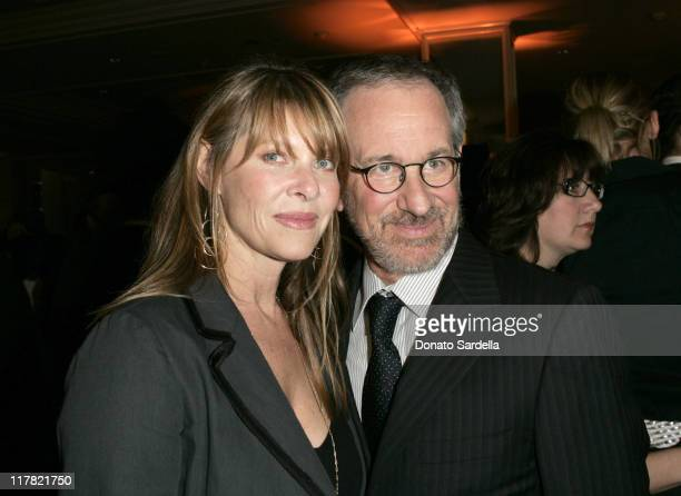 Kate Capshaw and Steven Spielberg during Saks Fifth Avenue's Unforgettable Evening Benefitting EIF's Women's Cancer Research Fund at Regent Beverly...