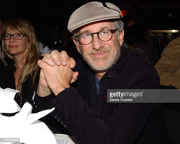Kate Capshaw and Steven Spielberg during The Equestrian AIDS Foundation's 2nd Las Vegas Benefit at The Hard Rock Hotel and Casino in Las Vegas Nevada...