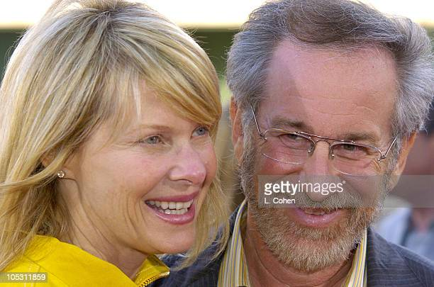 Kate Capshaw and Steven Spielberg during The Terminal World Premiere Red Carpet at Academy Motion Picture Arts and Sciences in Beverly Hills...