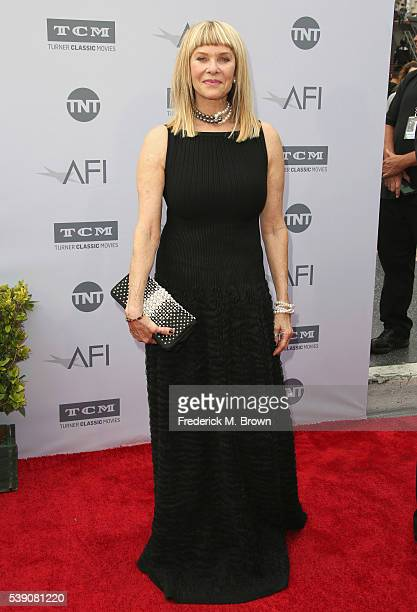 Kate Capshaw arrives at the American Film Institute's 44th Life Achievement Award Gala Tribute to John Williams at Dolby Theatre on June 9 2016 in...