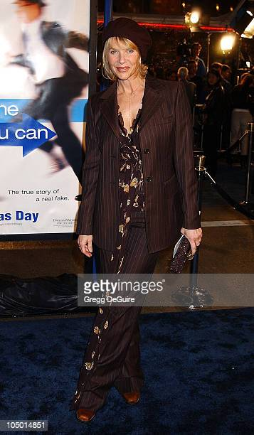 Kate Capshaw during Catch Me If You Can Los Angeles Premiere at Mann Village Theatre in Westwood California United States