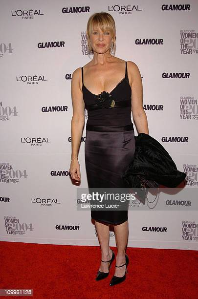 Kate Capshaw during Glamour Magazine Salutes The 2004 Women of the Year Arrivals at American Museum of Natural History in New York City New York...