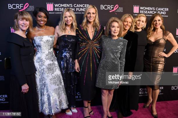 Kate Capshaw, honoree Gabrielle Union, Quinn Ezralow, Jamie Tisch, Maron Laurie, Kelly Chapman Meyer, honoree Kate Hudson and Rita Wilson attend...