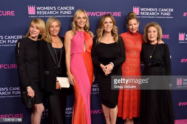 "Kate Capshaw, Kelly Chapman Meyer, Jamie Tisch, Rita Wilson, Myra Biblowit, Quinn Ezralow, and Marion Laurie attend WCRF's ""An Unforgettable Evening""..."