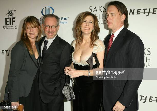 Kate Capshaw Steven Spielberg Rita Wilson and Tom Hanks