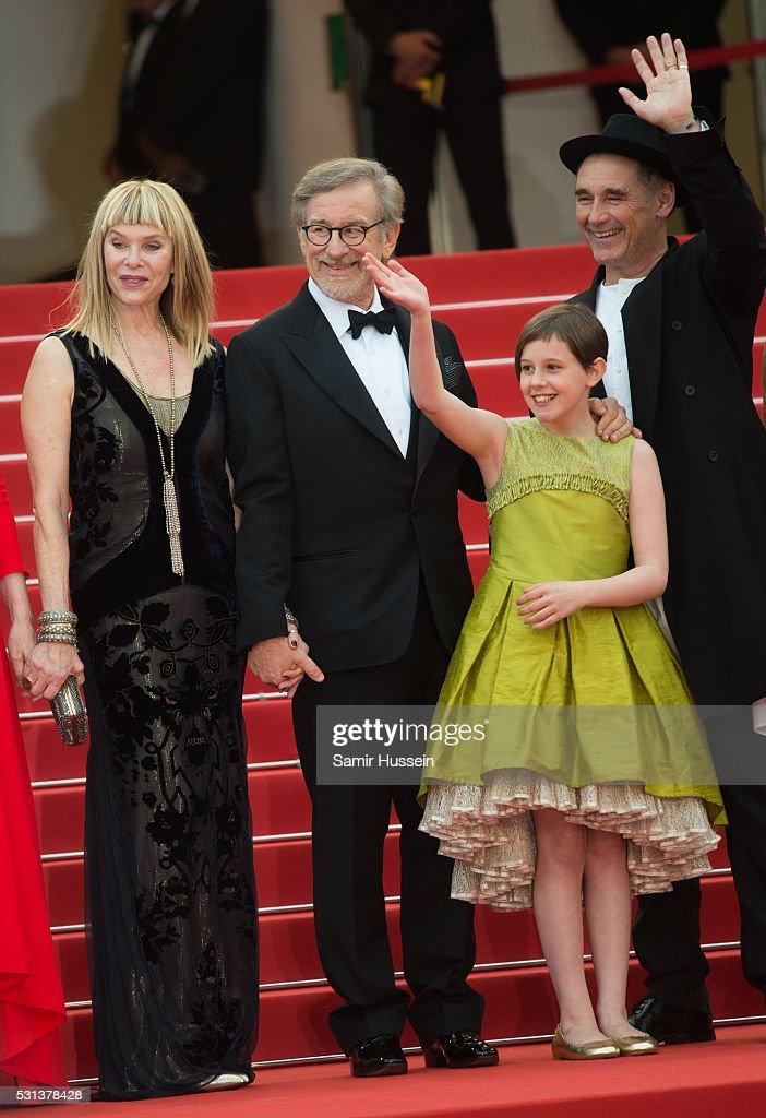 """The BFG (Le Bon Gros Geant - Le BGG)""- Red Carpet Arrivals - The 69th Annual Cannes Film Festival : News Photo"