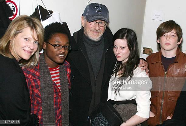Kate Capshaw Theo Spielberg Steven Spielberg Sasha Spielberg and Sawyer Spielberg