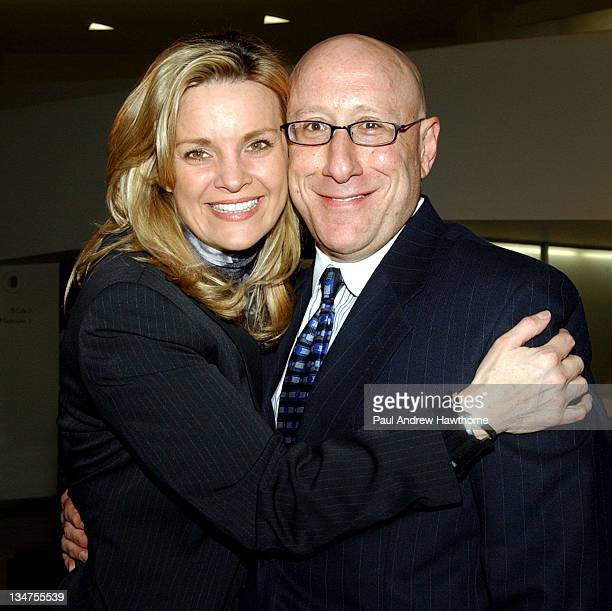 Kate Carr and Andy Siegel during Elizabeth Glaser Pediatric AIDS Foundation's An Evening at the Guggenheim at Guggenheim Museum in New York City New...